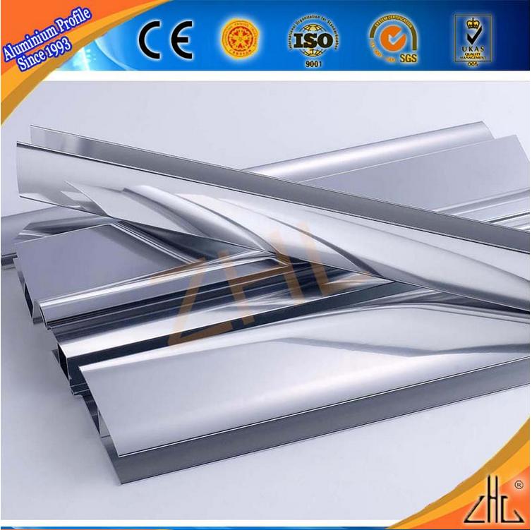 Perfil de aluminio zhonglian mate liso espejo de aluminio - Perfil de aluminio precio ...