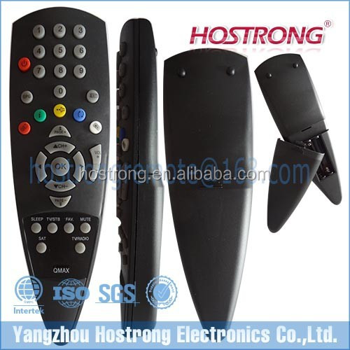 SPECIALSHAPE REMOTE CONTROL USE FOR QMAX Satellite receiver box, View  remote control, Hostrong Product Details from Yangzhou Hostrong Electronics  Co ,