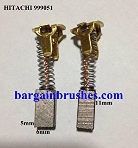 CARBON BRUSHES 4 Hitachi DS10D DS12D DS14D DS18D DV14D DV18D G14D G18D WH12 E132