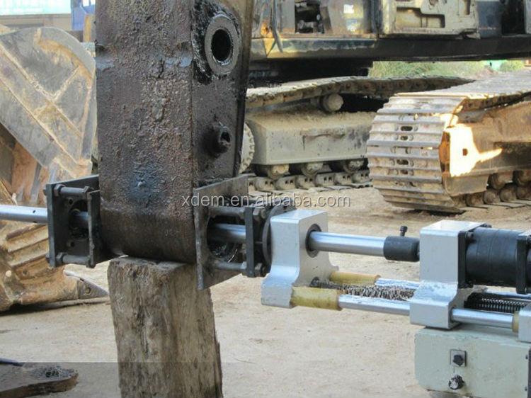 Portable Horizontal Boring : Gtdg ii portable line boring machine repairing excavator