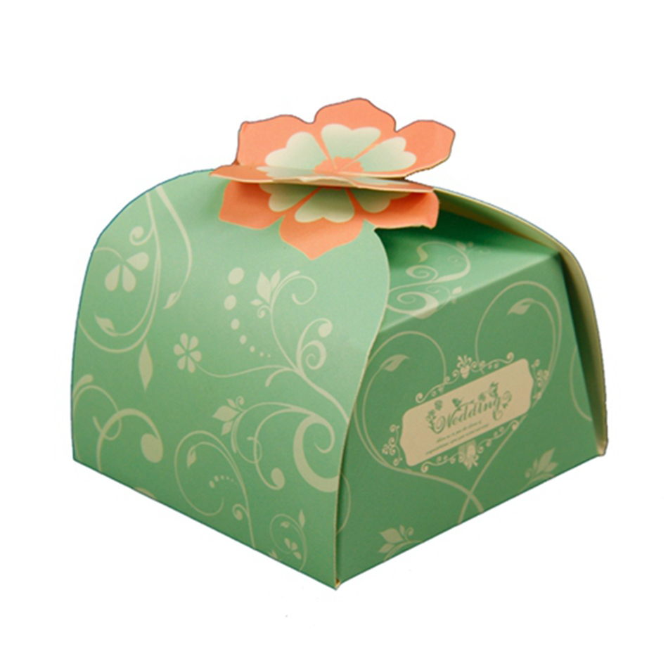 Laser Cut Cheap Wedding Favor Gift Box for Candy Bulk Wholesale Event & Party Supplies Multi-Colored 60 pcs Free Shipping
