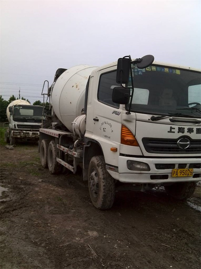 8 Cubic Meters Hino Concrete Mixer Truck, Hino Used Cemnt Mixer Truck for Sale