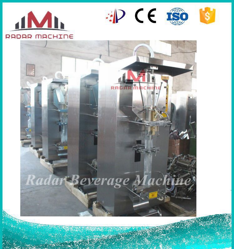 Stainless Steel Small Scale Plastic Bag Making Machine Sachet Water Liquid Filling Machine