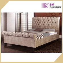 Factory cheap double pu leather bed design bed room furniture bedroom set for sale