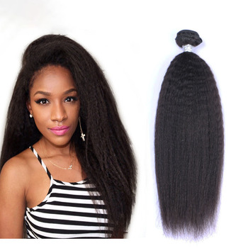 Cheap remy natural yaki curly human hair extensions, 100% natural hair blonde crochet braid hair