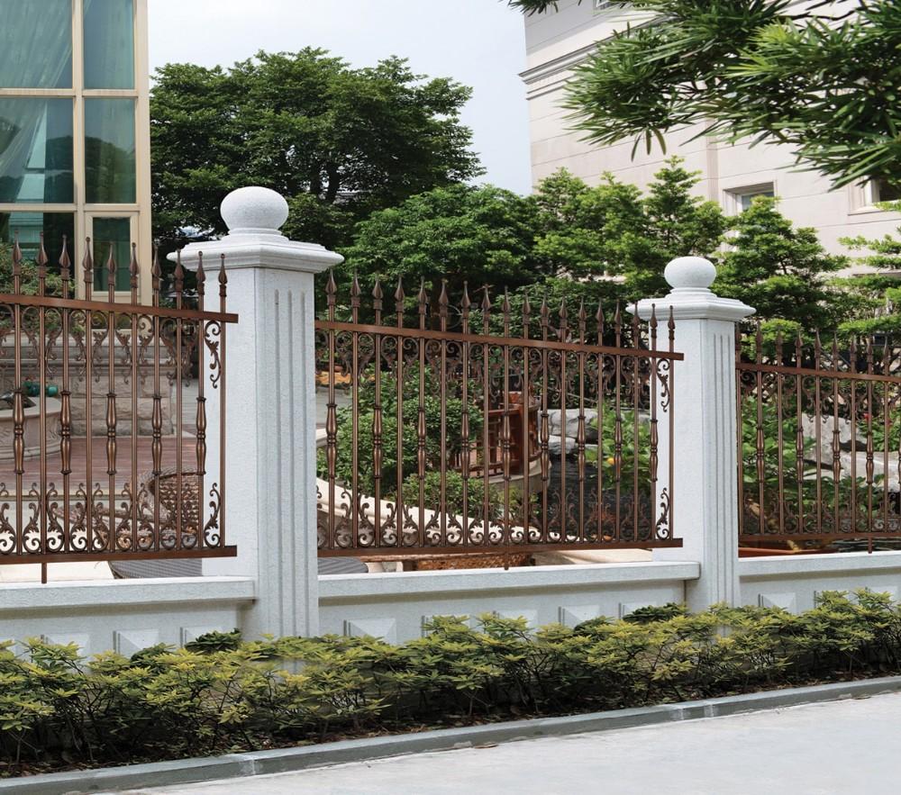 Latest Modern Cast Aluminum Fence Decorative Metal Garden