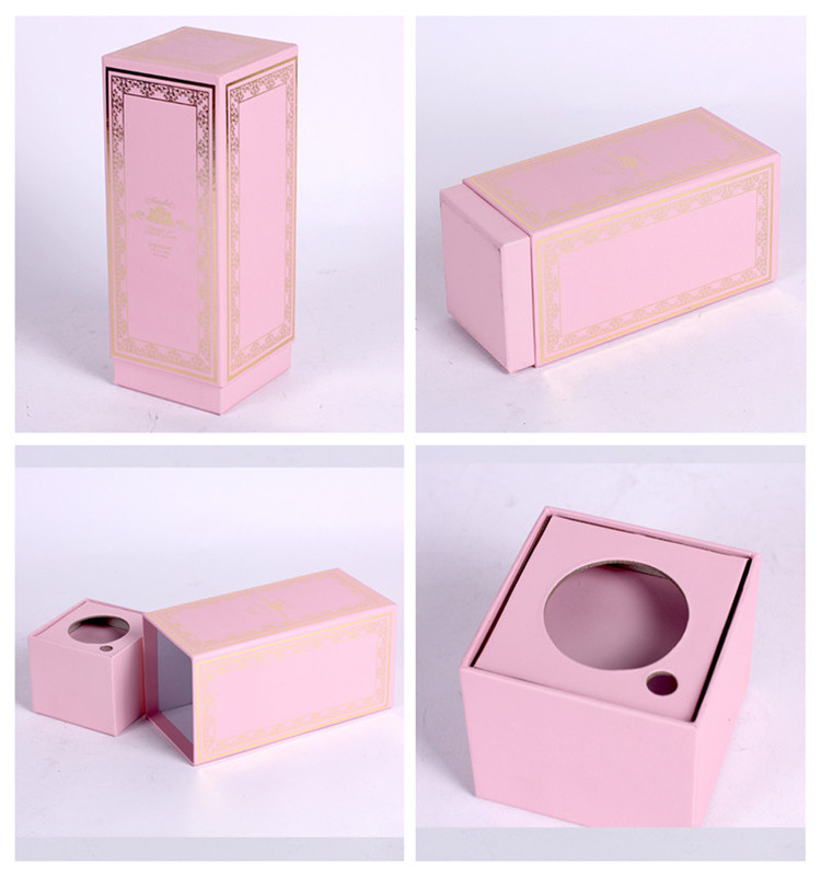 cheap cardboard cosmetics paper box for false eyelashes