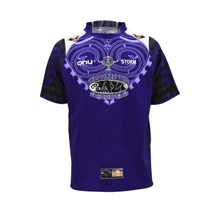 Wholesale team training custom reversible rugby jersey in rugby football wear