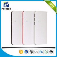 High capacity 13000mAh 3 usb outputs mobile phone power bank
