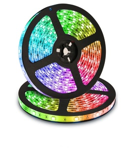 High bright 5M 5050 3528 60leds/m DC12V Flexible Single Color RGB waterproof heat resistant led strip light