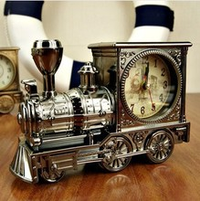 Free Shipping Alarm clock antique , quality fashion classic vintage motorcycle the shape of birthday gift home fashion
