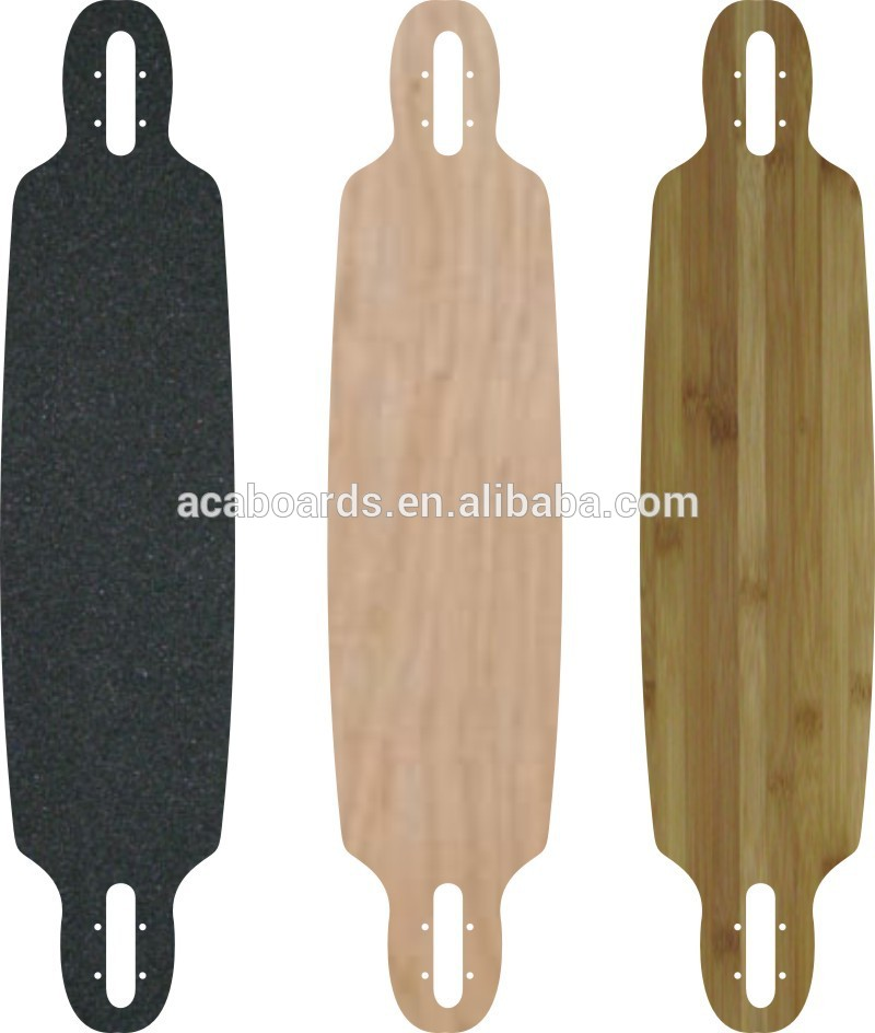 natural pintail skate longboard 43x9inch