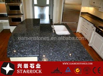Merveilleux Prefab Blue Pearl Granite Kitchen Countertop,lowes Granite Countertops  Colors