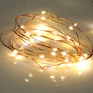 Copper Wire Led Ball String Light For Christmas Decoration