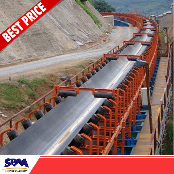 High Abrasion Resistance iso certified rubber conveyor belt for venezuela