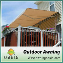 electric control Folding arm awning