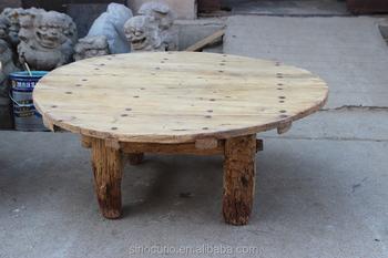 Tavoli Da Pranzo Antichi : Mobili antichi soggiorno tavolo da pranzo rotondo in legno in