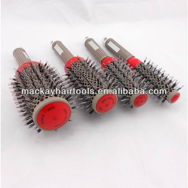 Boar bristle hair brush professional top quality
