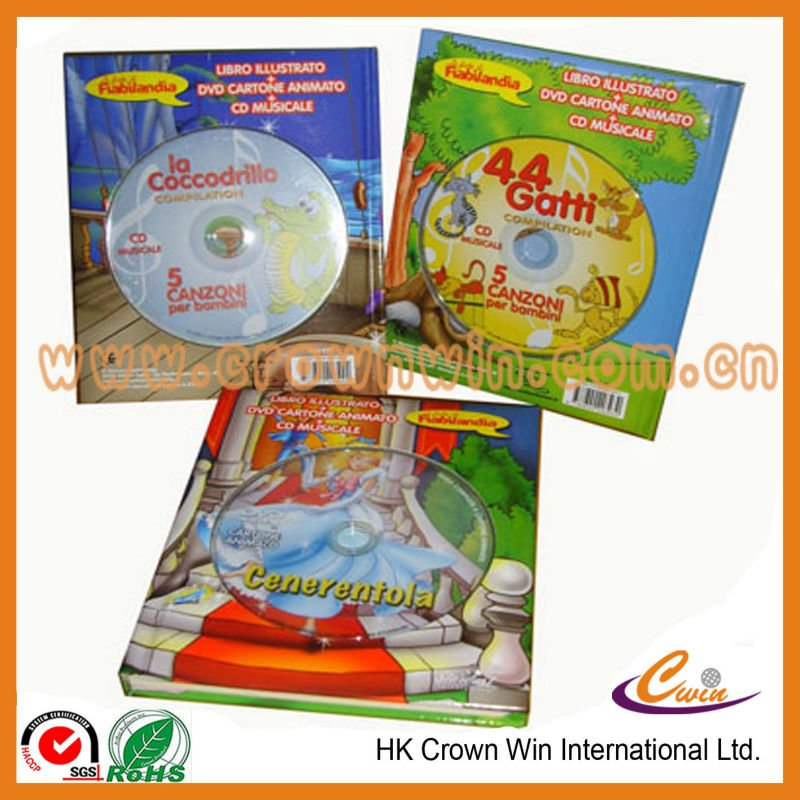 High quality cartoon story book export