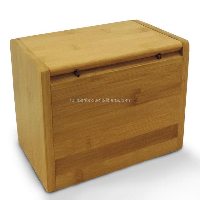 respetuosa con el medio ambiente Caja de organizaci/ón de recetas de bamb/ú con tarjetas y divisores de madera de bamb/ú para recetas de cocina o tarjetas de recetas