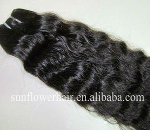 Premium quality 100% Mongolian virgin human hair weft/weaving loose curly real remy relaxer human hair nomixed