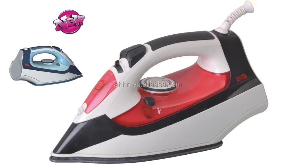 New design stainless steel soleplate steam iron CE.GS LFGB approvel