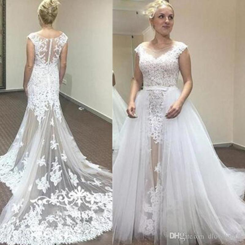 C007 Simple Wedding Dress 2018 V Neck Appliques Lace Beach Dress Chiffon  Plus Size Wedding Gowns - Buy Simple Wedding Dress,V Neck Appliques Lace ...