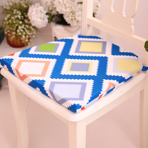 Popular chair cushion Digital printing cushion Seat Pads and comfortable Custom patterned cushion