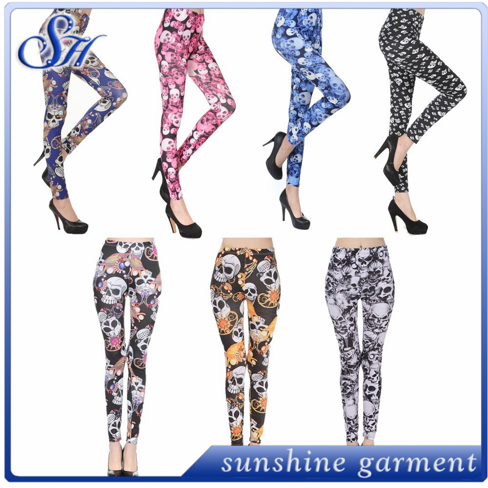plus size leggings OEM services double brushed soft milk silk leggings
