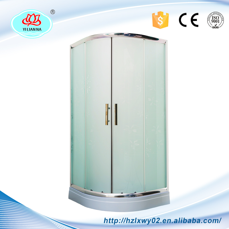 Aluminium Alloy Europe Outdoor Garden Glass Simple Shower Room