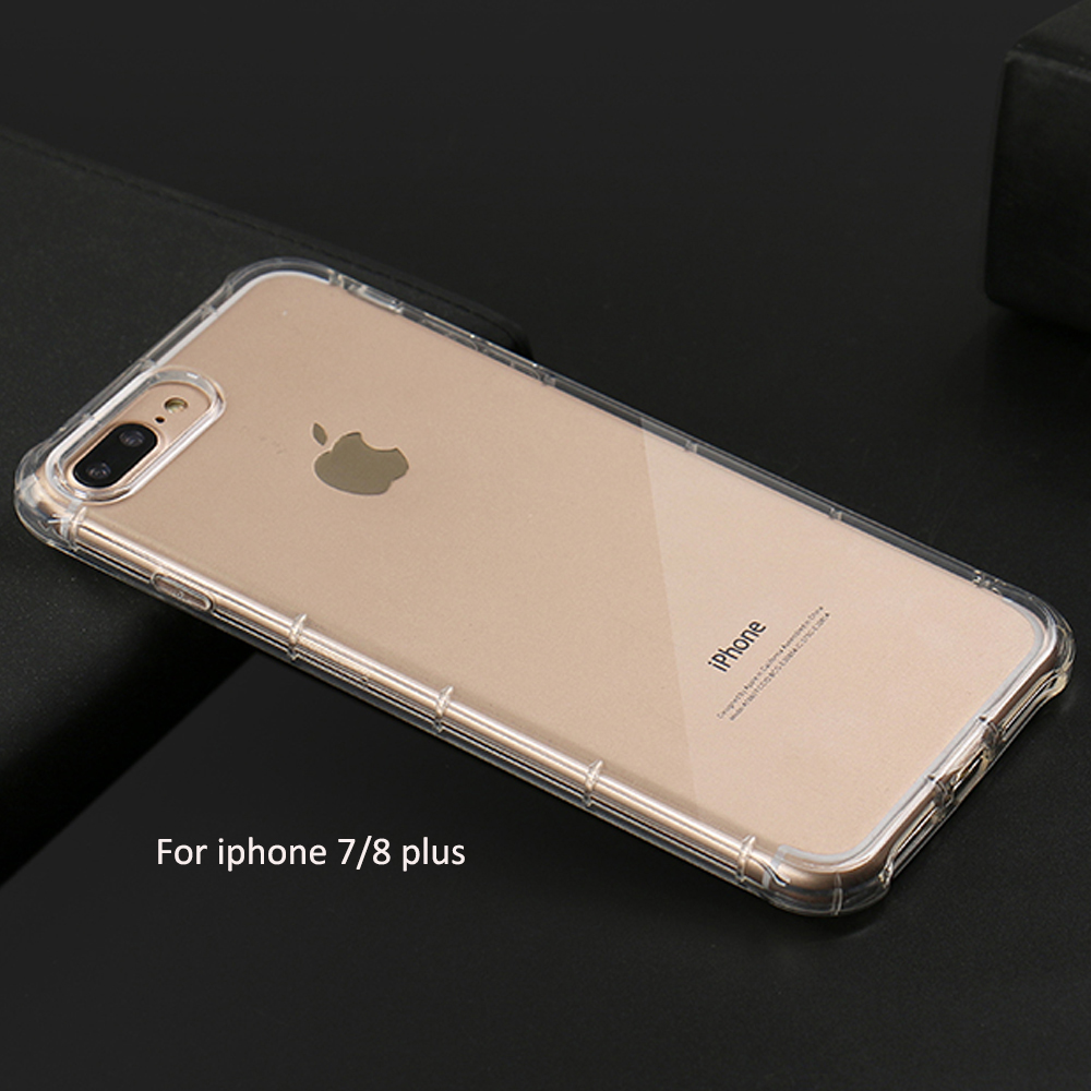 DFIFAN Best selling 2018 new premium camera protective case for iphone 8 case, transparent shockproof for iphone 8 case tpu