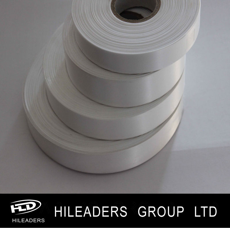 LH285 High Quality Matt Beige Polyester Satin Label Ribbon