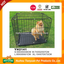 Outdoor Foldable Metal Dog Crate Wholesale