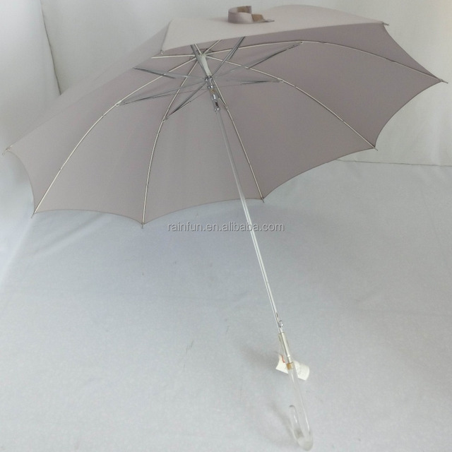 Windproof 21 Inch Aluminum Patio Umbrella For Ladies