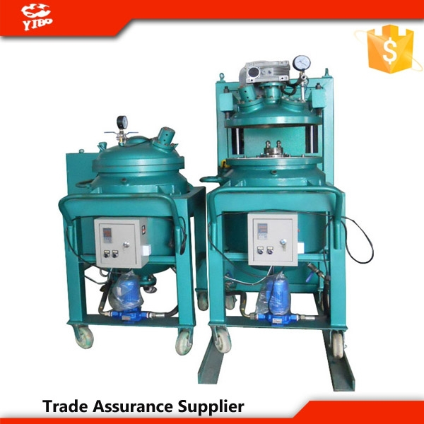 Thin film degassing , resin mixing device, vacuum forming machine for insulators