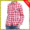 OEM service Wholesale children clothing long sleeve dry t shirt,plaid shirt designd for boys