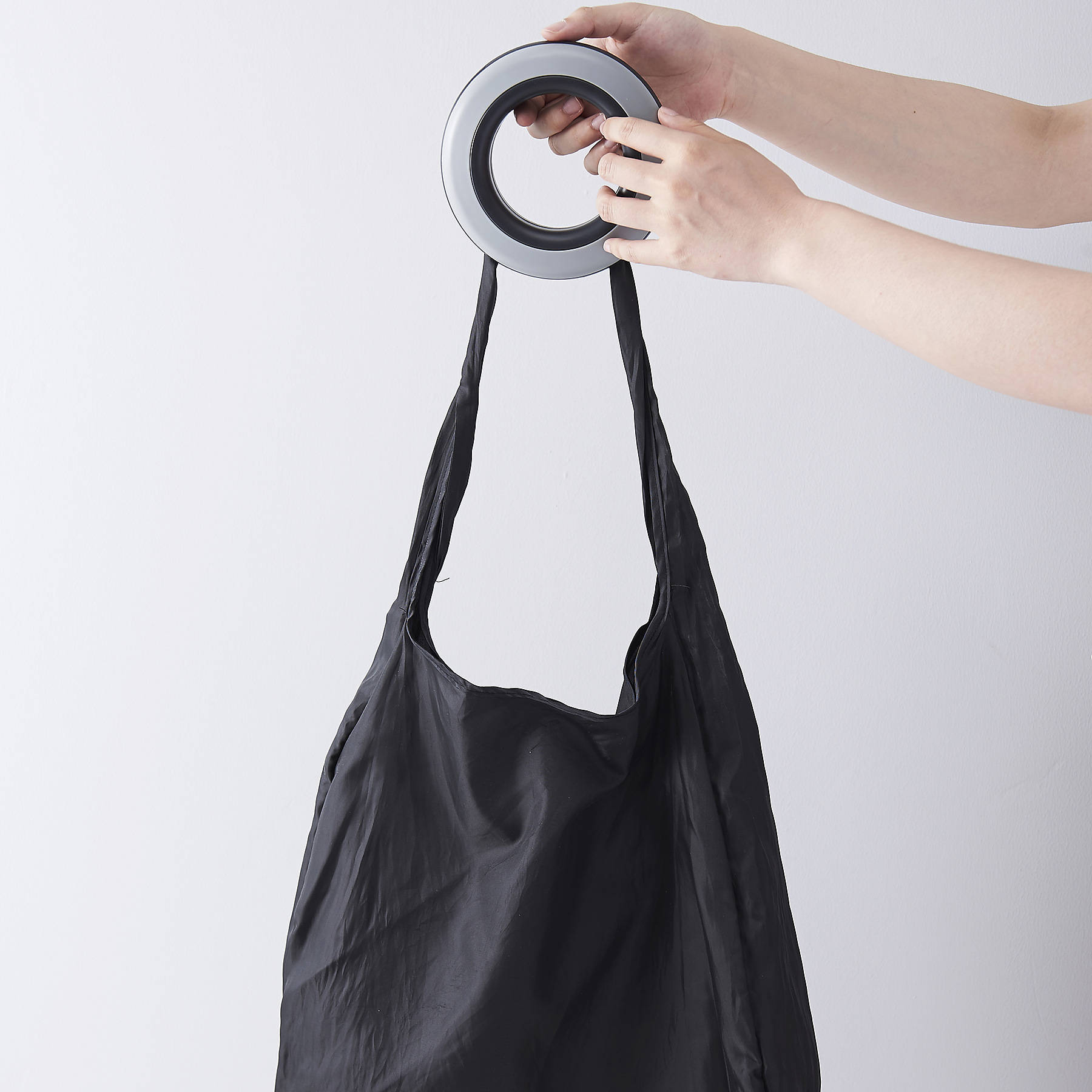Creative Spiral Portable Storage Nylon Skew Span Eco-friendly Shopping Bag
