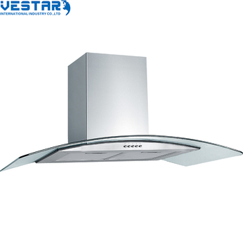 High quality european style stainless steel island range hood