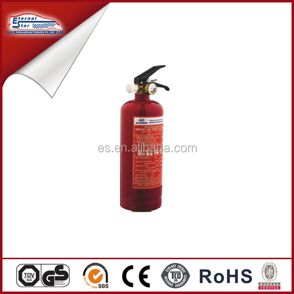 Auto 1kg fire extinguisher with SASO certificate