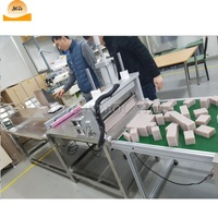 Automatic toilet bar soap cutting cutter The soap loaf wire cutter machine