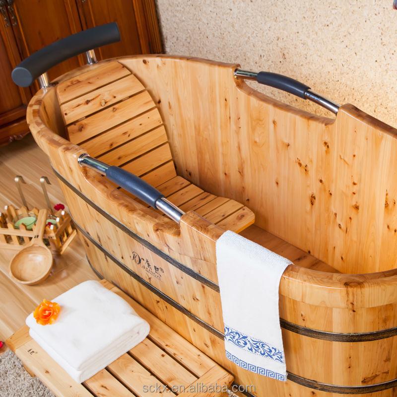 Elegant Quality Cedar Wood Garden Tub Lowes, Walk In Shower Tub Combo