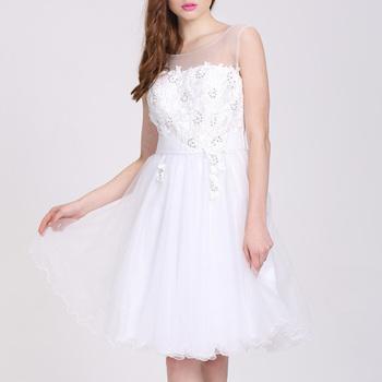 Alibaba Express último Corto Neto Vestido Blanco De La Moda Fiesta Comunión De Vestidos De Fiesta Para Mujeres Buy Vestidos Blancos Para