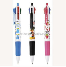 full color printing school student use multi color ball pen