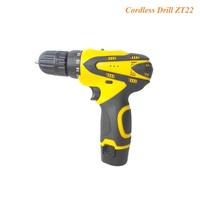 Professional 12Volt Li-ion battery cordless drill
