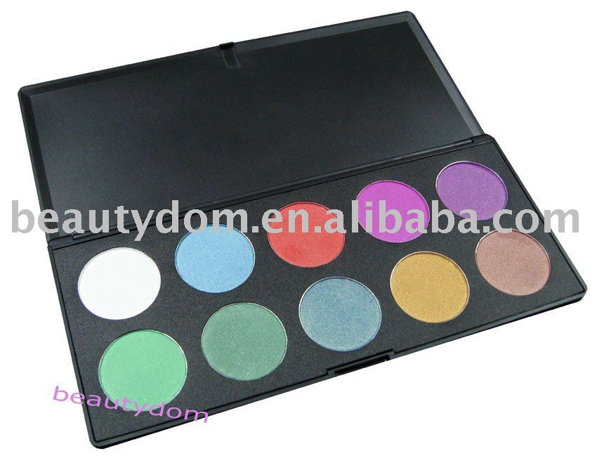 Latest Cosmetic, 10 ultra Shimmer Eyeshadow Palette, 10 Pearl colors Eye Shadow