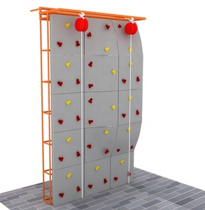 Commercial artificial fiberglass kids outdoor or indoor rock climbing wall panel with hight quality climbing wall holds