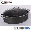 Elliptical shape aluminum Non-stick sauce pot