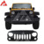 Hot sale 07-17 Wrangler ABS Black  Bird Packaged Grille 4x4 Offroad Auto Accessories
