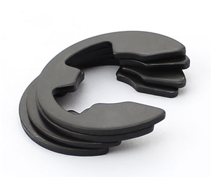 E Type Clip Washer with Split Circlip Snap Ring Washer Spring Steel Retaining Snap E-Clip Lock Washer