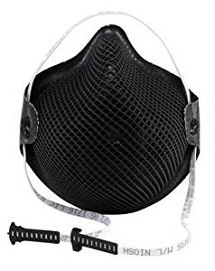 Moldex Medium - Large N95 Special Ops Disposable Particulate Respirator With Dura-Mesh Shell - Meets NIOSH And OSHA Standards - 15 EA